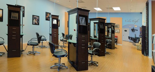 Let one of our talented hair designers open a world of possibilities with our French Haircutting Technique. Schedule a consultation today with one of our French trained designers, and experience the difference of the French cutting and coloring technique!