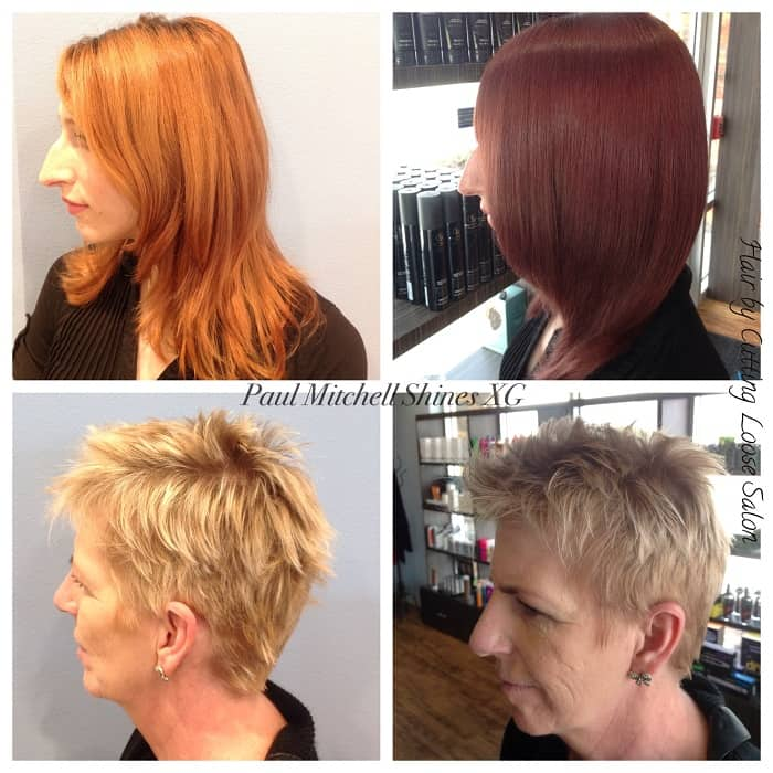 Color Me Perfect Cutting Loose Hair Salons